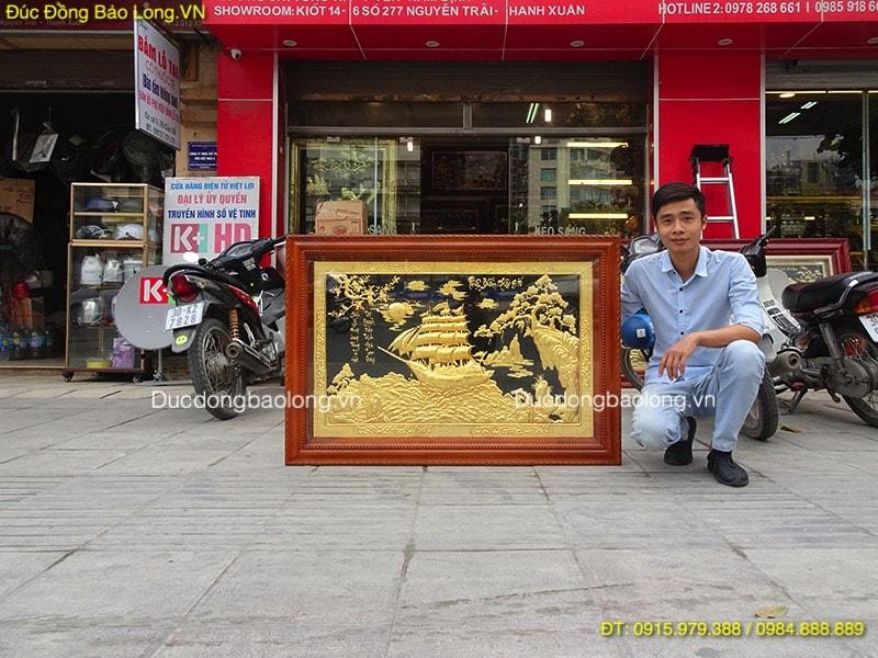 Tranh Thuận Buồm Xuôi Gió đẹp Nhất dài 1m27