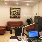 Treo Tranh Chữ Tâm bằng đồng 1m27 cho phòng khách ở Hà Nội