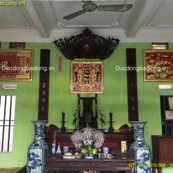 Tranh Đồng Mạ Vàng 24k trang trí phòng thờ ở Bắc Giang