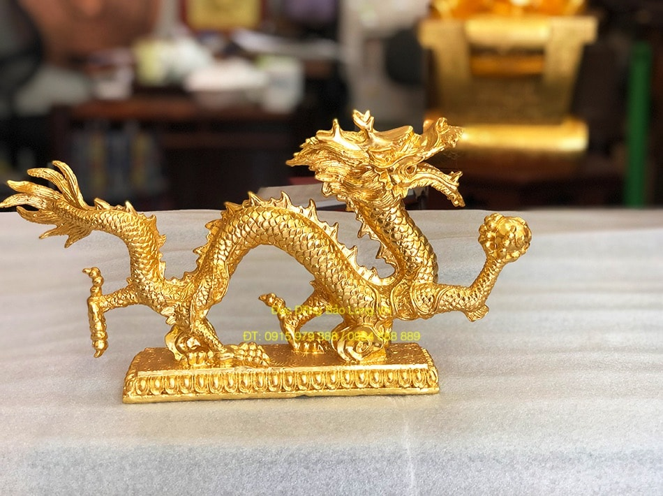 Tượng Rồng Dát Vàng 9999, Rồng thời Trần