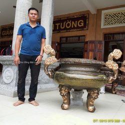 Mua lư đồng ở TPHCM, Lư hương Chùa Tổ Đình Giác Nguyên