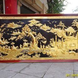 Các bức Tranh Đồng Mạ Vàng cao cấp Đẹp Nhất