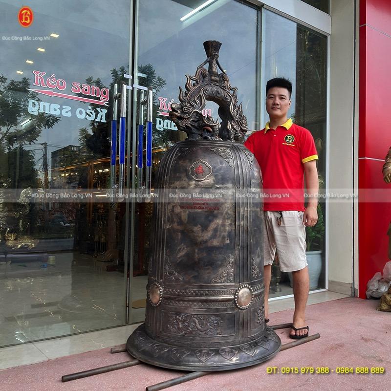 Chuông Đồng 500kg treo tại Chùa ở Lâm Đồng