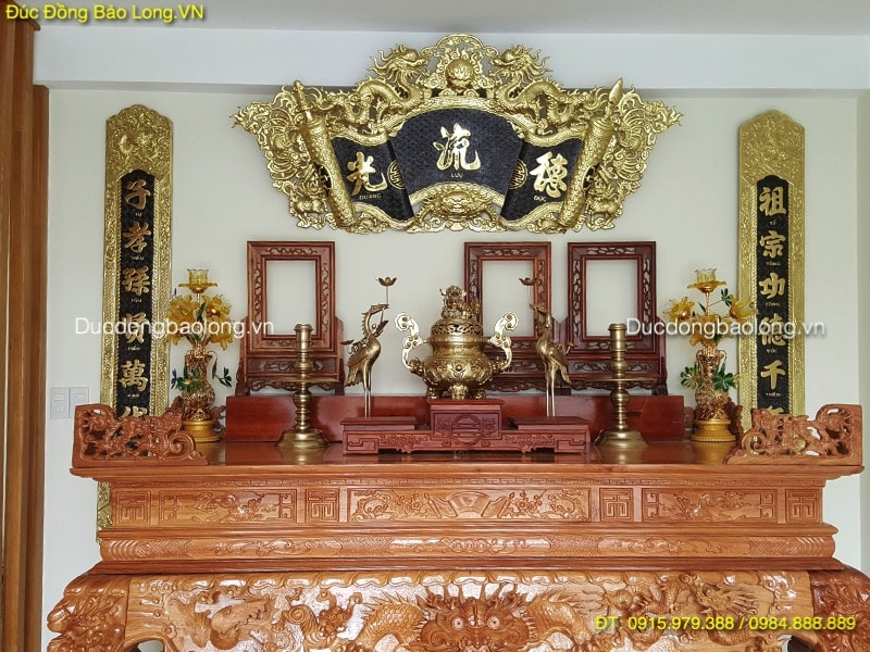 Đồ thờ bằng đồng tại Huyện Đông ANh