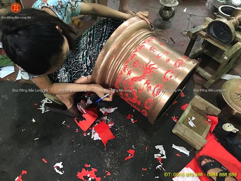 Đồ thờ bằng đồng đẹp tại quận Hoàn Kiếm