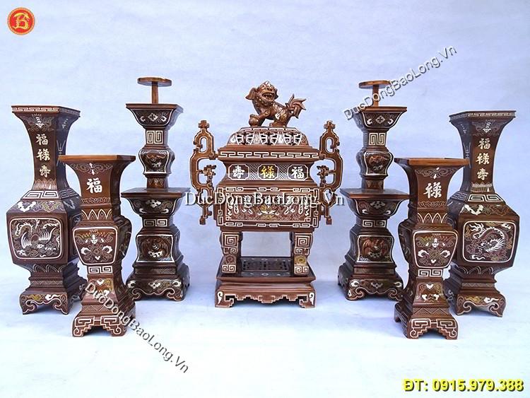 Đồ thờ bằng đồng đẹp tại Long Biên