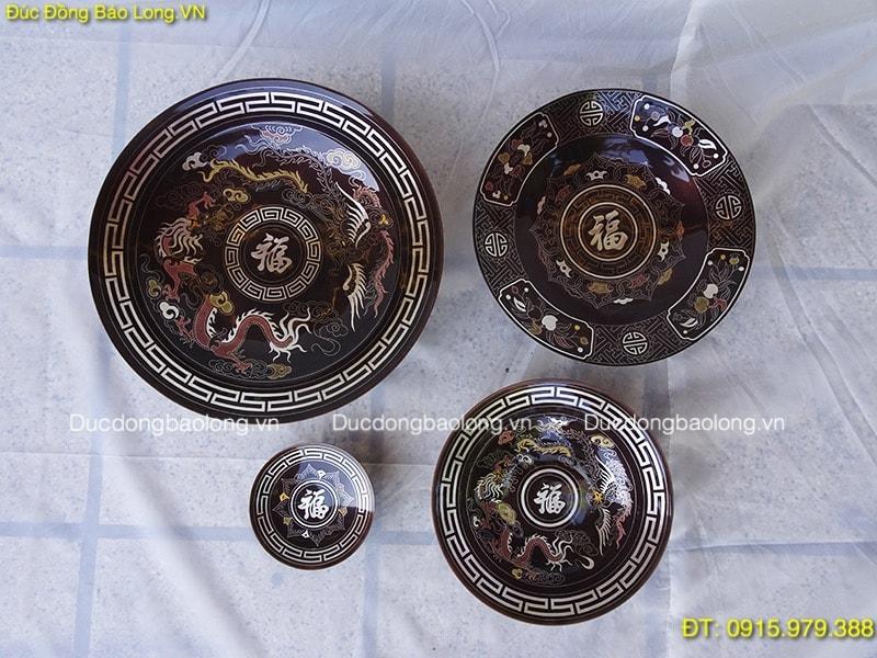 Đồ thờ bằng đồng tại Từ Liêm, mâm bồng bằng đồng