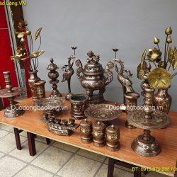 Mua đồ thờ bằng đồng tại Từ Liêm