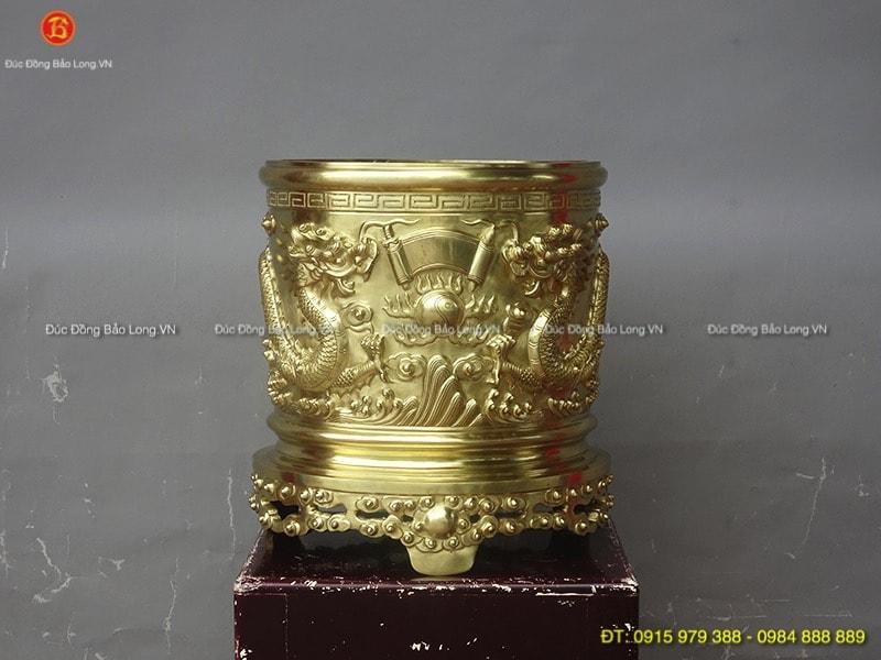 Đồ thờ bằng đồng tại Từ Liêm, bát hương bằng đồng