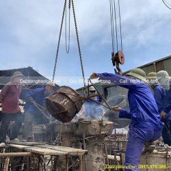 Đúc tượng phật đồng 11 pho cho Chùa ở Cẩm Phả – Quảng Ninh