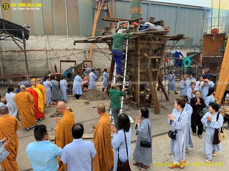 Đúc Tượng Phật bằng đồng tại An Giang đẹp