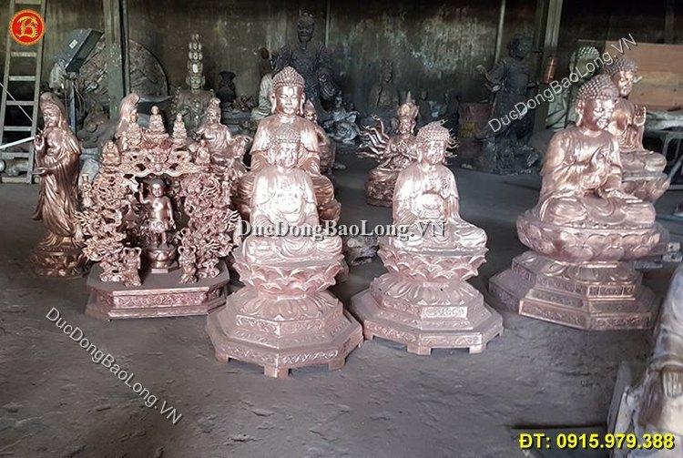 Đúc tượng Phật bằng đồng tại An Giang, giá tượng