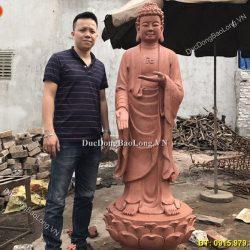 Đúc tượng Phật bằng đồng tại Bạc Liêu