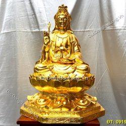 Đúc tượng Phật bằng đồng tại Bình Dương