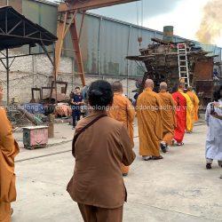 Đúc tượng Phật bằng đồng tại Bình Phước