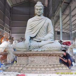 Đúc tượng Phật bằng đồng tại Cần Thơ