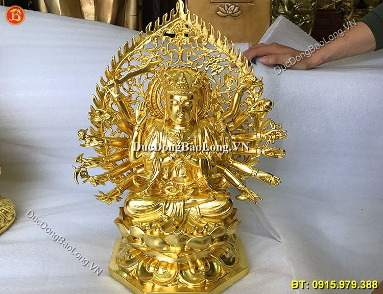 Đúc tượng phật bằng đồng tại Đồng Tháp, tượng Chuẩn Đề