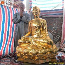 Đúc tượng Phật bằng đồng tại Hà Nội uy tín, chất lượng