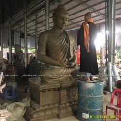 Đúc tượng Phật bằng đồng tại Khánh Hoà