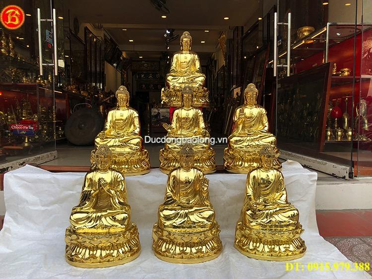 Tượng Phật bằng đồng tại Lào Cai, dược sư