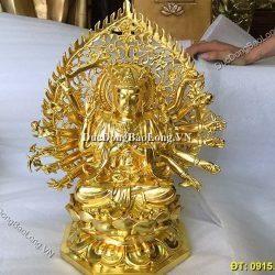 Đúc tượng Phật bằng đồng tại Sơn La