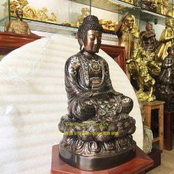 Đúc tượng Phật bằng đồng tại Thái Nguyên