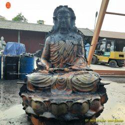 Đúc tượng Phật bằng đồng tại Trà Vinh