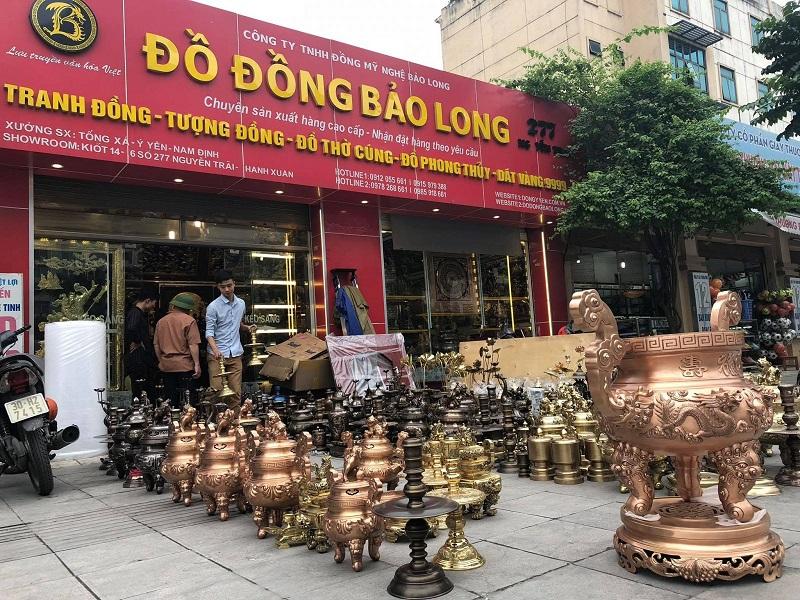 Địa chỉ mua đồ thờ bằng đồng tại huyện Hóc Môn uy tín