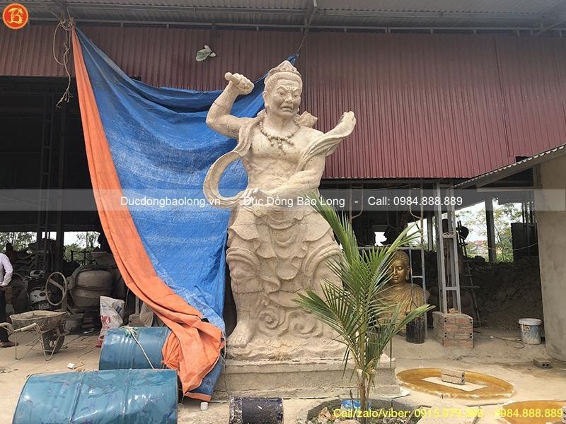tượng bát bộ kim cang hộ pháp