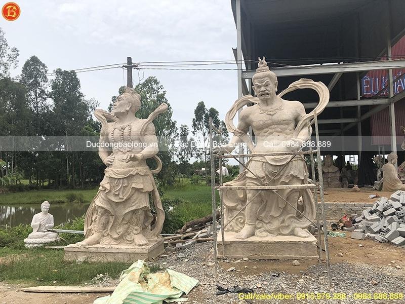 tượng hộ pháp kim cang