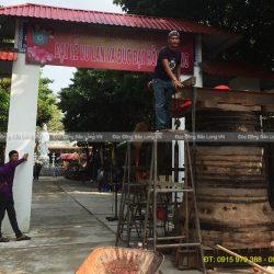 Đúc chuông đồng – Đại Hồng Chung tại Cà Mau