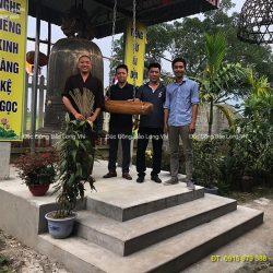 Đơn vị nhận đúc chuông đồng uy tín nhất tại Thái Bình