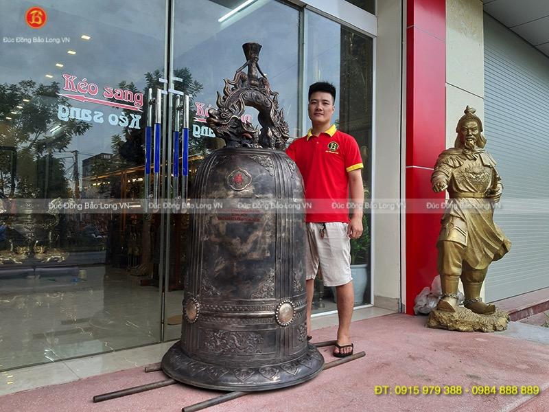 Đúc chuông đồng tại Tuyên Quang