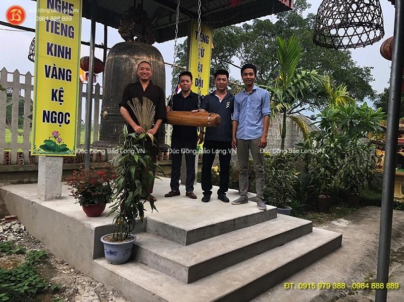 Cơ sở đúc chuông đồng tại Tuyên Quang