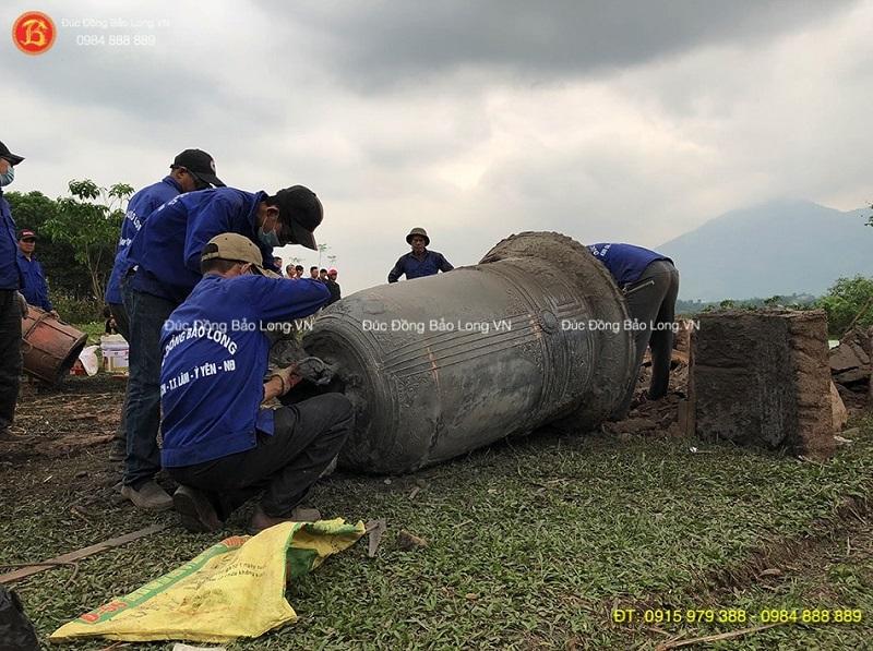 Đúc chuông đồng chất lượng tại Tuyên Quang