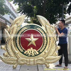 huy hiệu công an nhân dân