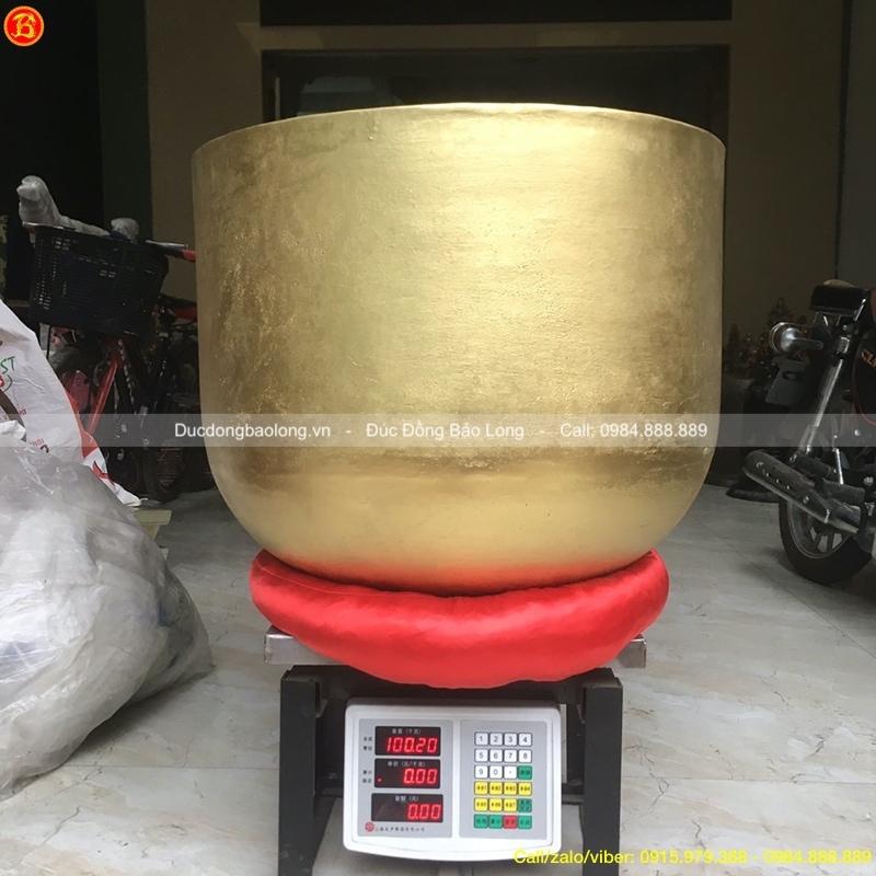 Chuông Bát Đồng tụng đường kính 60cm