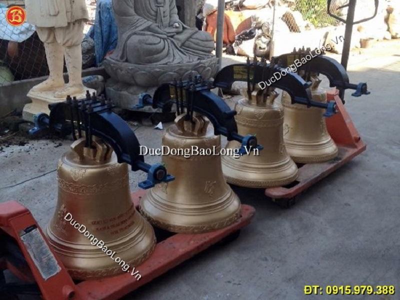 Đúc chuông đồng tại Nam Định