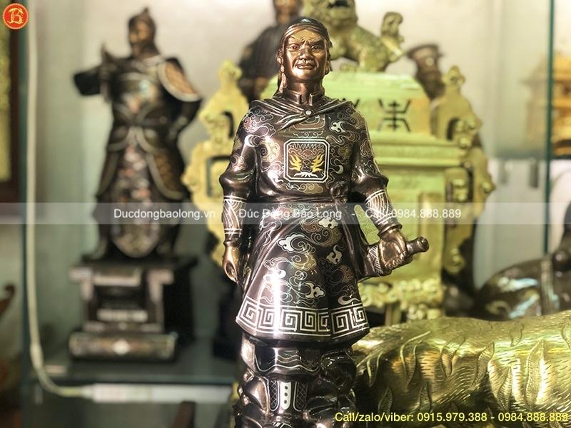 giá tượng vua quang trung bằng đồng