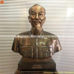 tượng bác hồ 50cm