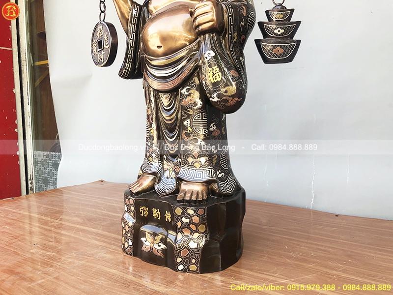 tượng phật di lặc đẹp 72cm