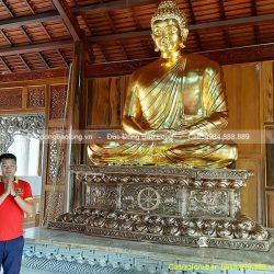 Quy trình đúc tượng Phật Thích Ca 3m cho Chùa ở Tây Ninh