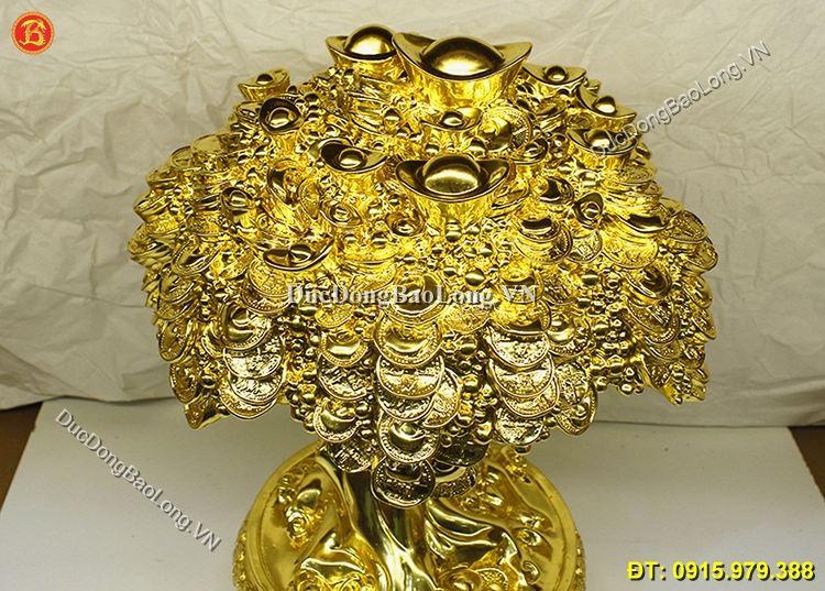 Cây Tiền Thếp Vàng 9999 Cao Cấp Cao 40cm