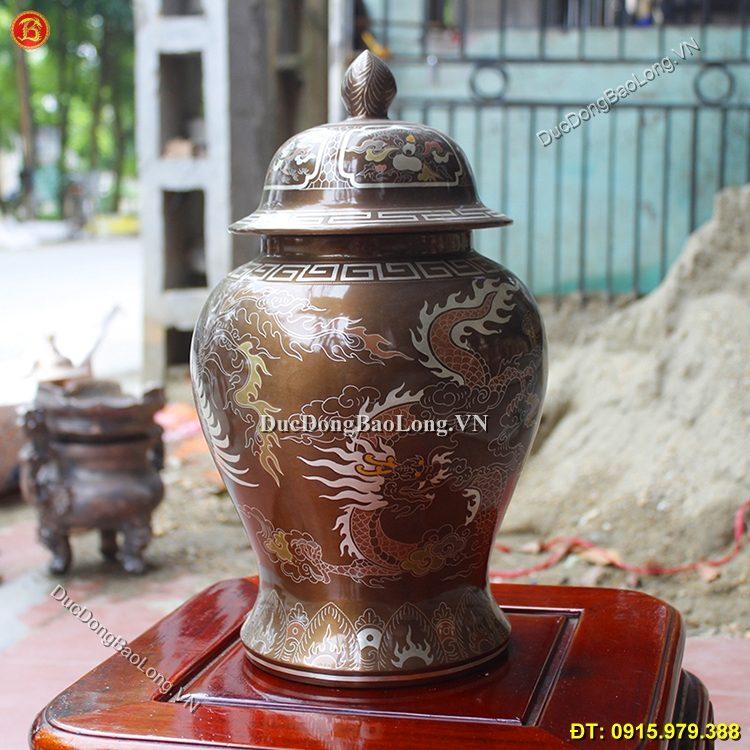 Chóe Đồng Khảm Ngũ Sắc 30cm