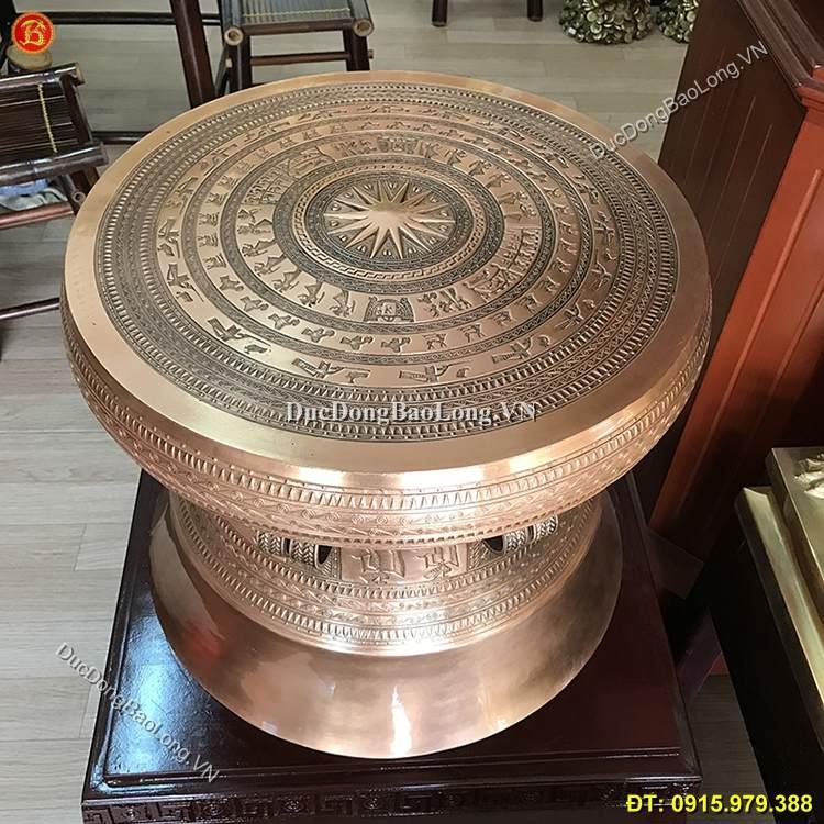 Quả Trống Ngọc Lũ Đúc Tinh Xảo ĐK 50cm