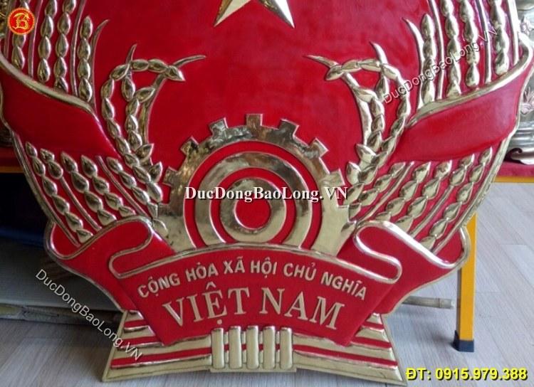 Quốc Huy Bằng Đồng 1m2 Hàng Đặt