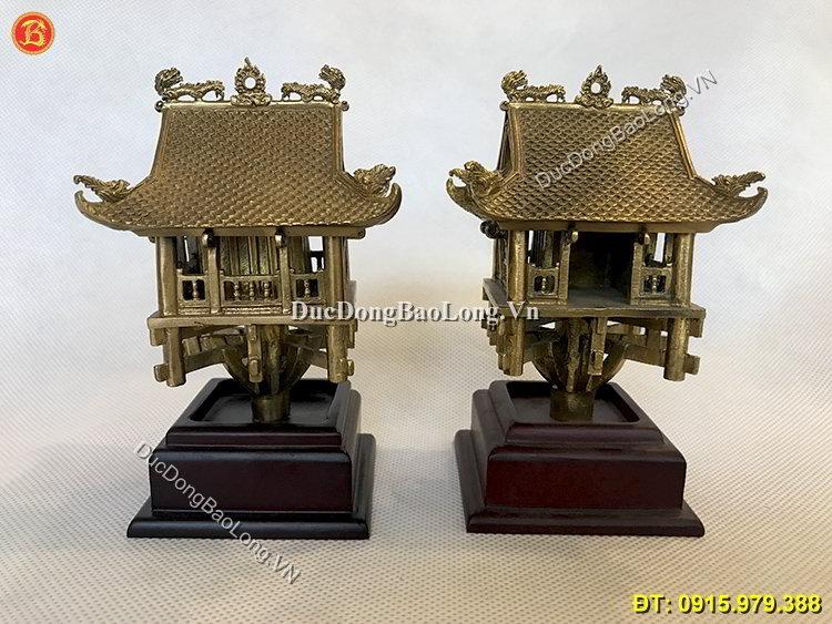 mô hình bằng đồng làm quà tặng cho người nước ngoài