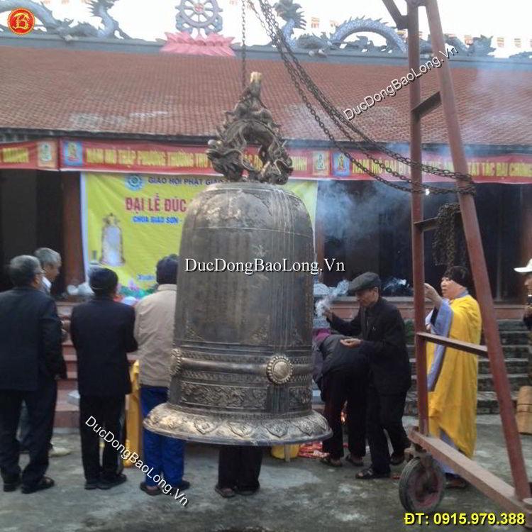 Nơi Đúc Chuông Chùa Bằng Đồng 600kg