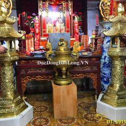 5 Mẫu Đèn Thờ Cúng Bằng Đồng Thờ Gia Tiên, Đình Chùa