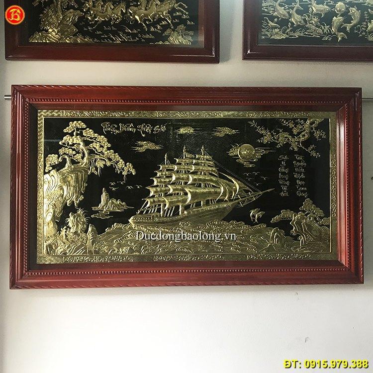 Tranh Thuận Buồm Xuôi Gió Đẹp Dài 1m55